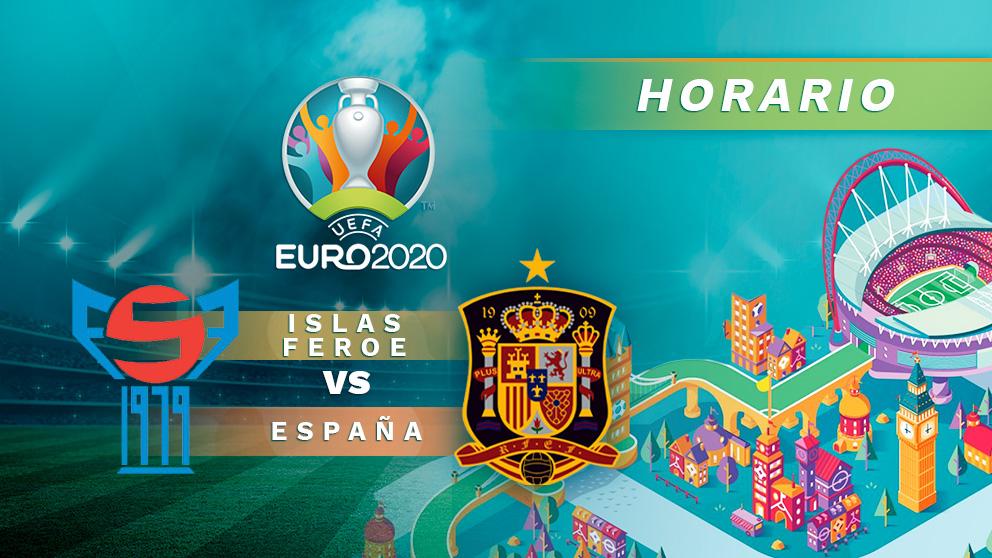 Clasificación Eurocopa 2020: Islas Feroe – España   Horario del partido de fútbol de la clasificación para la Eurocopa 2020.