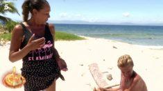 Isabel y Chelo en su primer enfrentamiento en 'Supervivientes 2019'