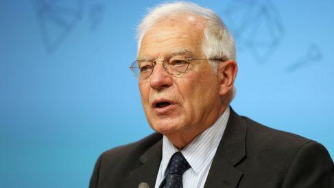 Josep Borrel en un acto en Europa