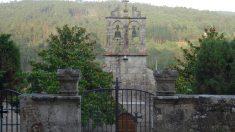 Parroquia de Cabanas de Bergantiños (La Coruña).