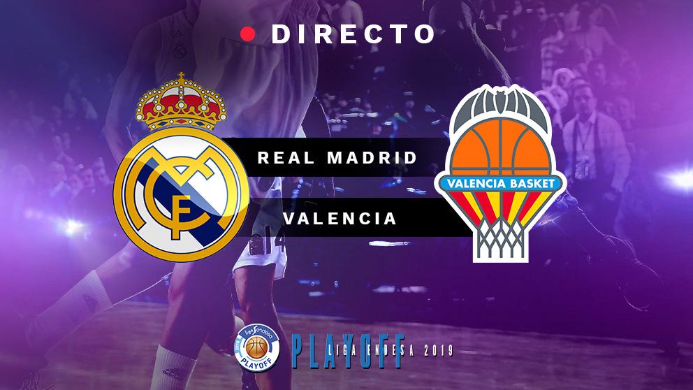 Semifinales Playoff Liga Endesa 2019: Real Madrid – Valencia Basket   Partido de baloncesto de Liga Endesa hoy, en directo.
