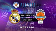 Semifinales Playoff Liga Endesa 2019: Real Madrid – Valencia Basket | Horario del partido de baloncesto de Liga Endesa.