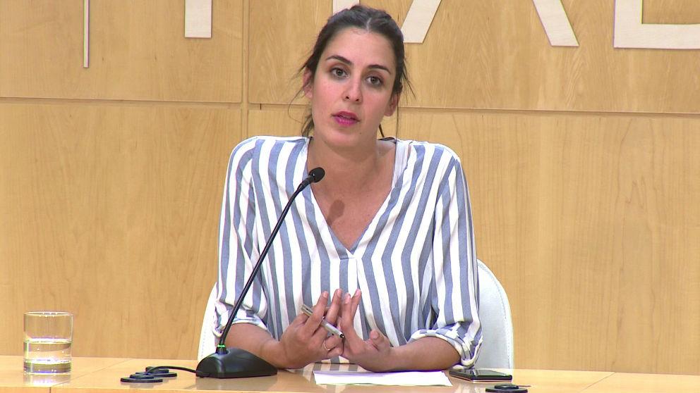 Rita Maestre. Foto: Europa Press
