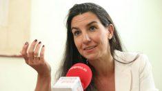 Rocío Monasterio en una entrevista con Europa Press