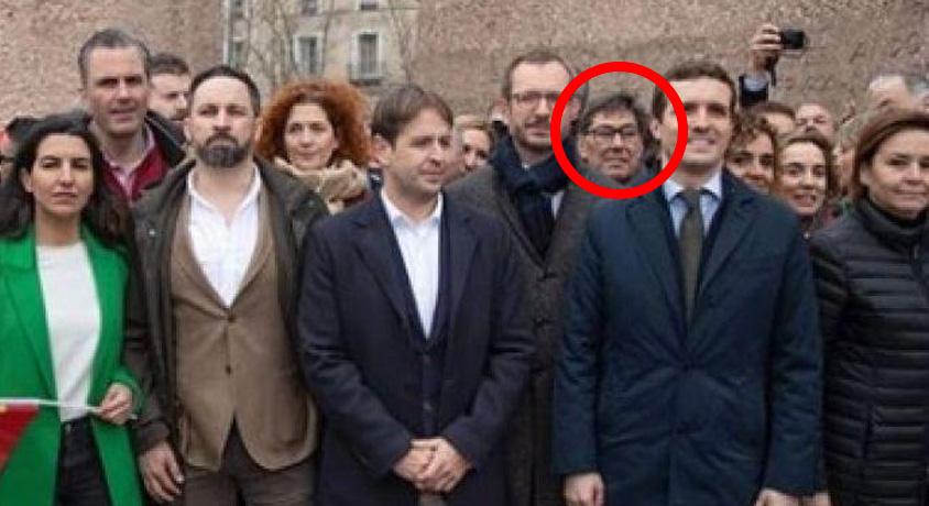 El PSOE intenta arrebatar Aragón a PP y C's con un socio que también estuvo en la foto de Colón