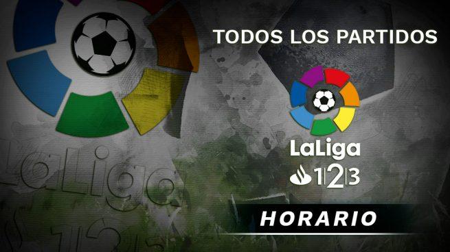 Liga 123 partidos hoy