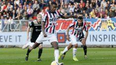 Alexander Isak con el Willem II (AFP)