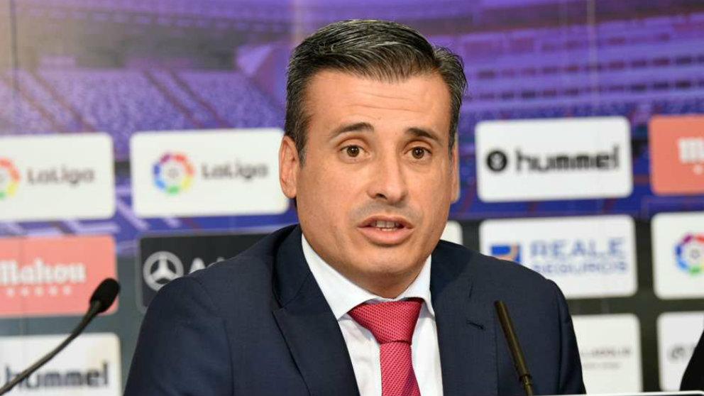 Miguel Ángel Gómez, director general deportivo del Valladolid (Realvalladolid.es)