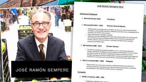 El presidente de Mercasa, José Ramón Sempere.