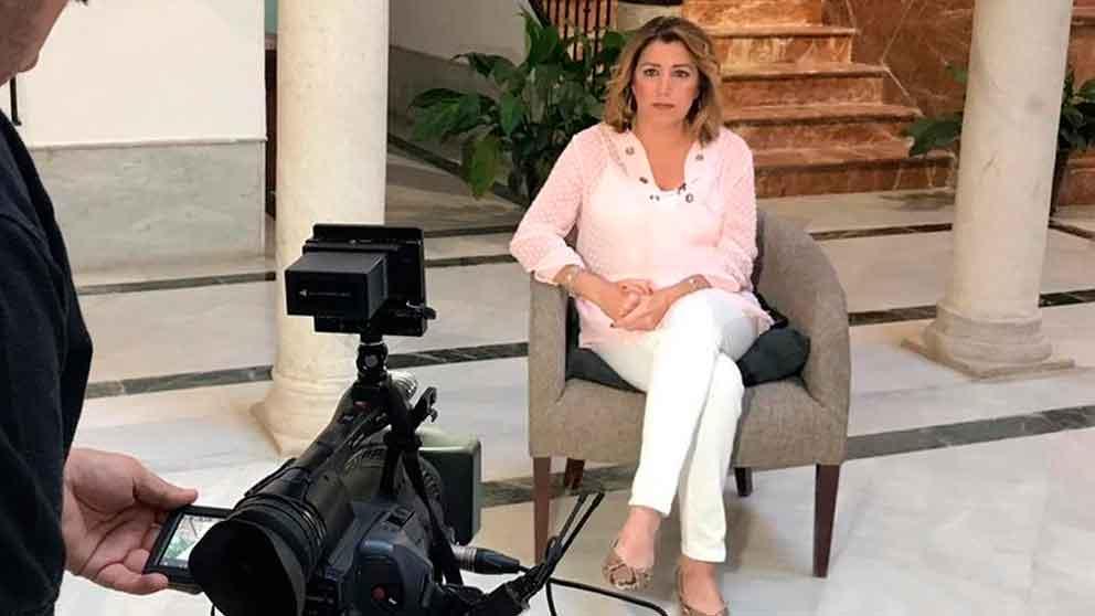 Susana Díaz, secretaria general del PSOE-A