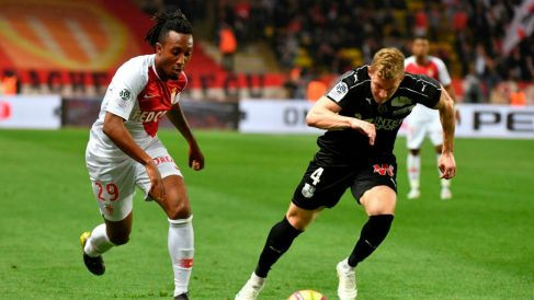 Gelson Martins en un partido con el Mónaco (@GelsonMartins_)