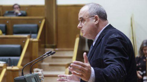 Joseba Egibar, portavoz del PNV en el Parlamento de Vitoria.