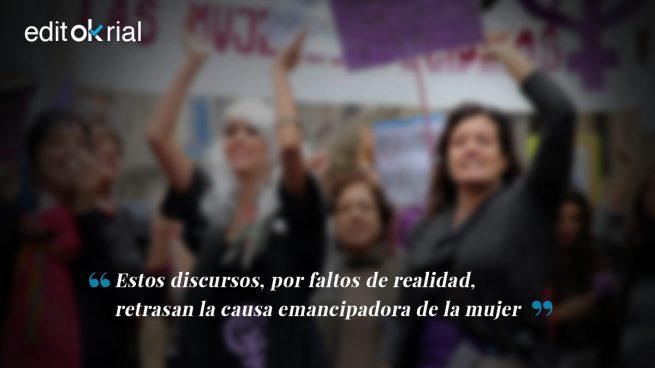 Las feminazis desprestigian al feminismo