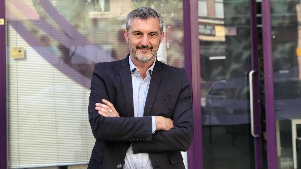 Óscar Urralburu, secretario general de Podemos Murcia