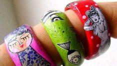 Pasos para hacer pulseras de papel maché