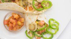 Receta de Enchiladas mexicanas de setas