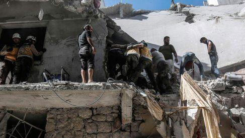 Una casa destruida en Siria. Foto: EP