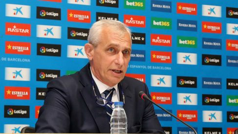 Carlos García Pont, vicepresidente del Espanyol (RCD Espanyol)