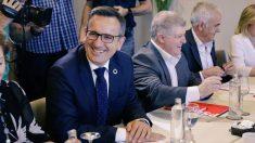 El candidato delPSOEa la presidencia del Gobierno de Murcia, Diego Conesa. Foto: twitter