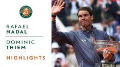 Rafa Nadal en Roland Garros 2019