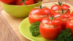 Receta de tomates rellenos con champiñones