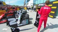 Vettel cambia las posiciones finales de los pilotos.