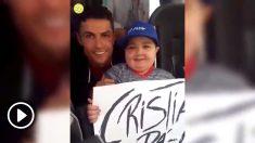 El enorme gesto de Cristiano con un niño enfermo.