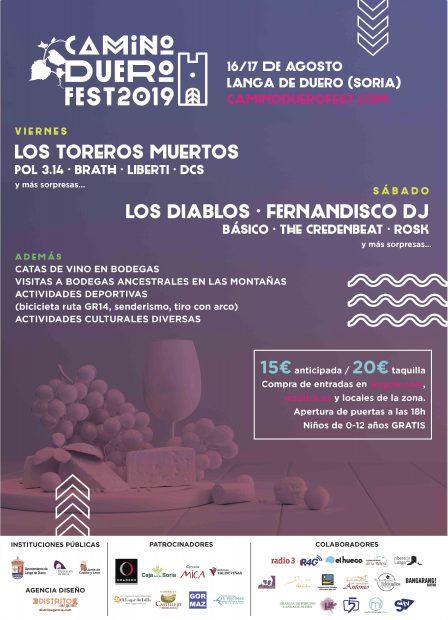 Llega la primera edición del festival Camino Duero en la provincia de Soria