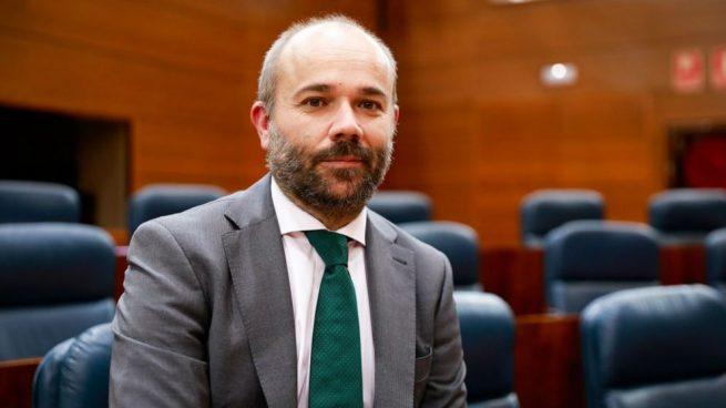 El Presidente de la Asamblea de Madrid Juan Trinidad.
