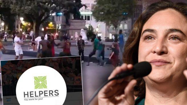 Los barceloneses montan 'brigadas vecinales' contra la inseguridad provocada por Colau