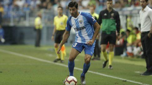 Miguel Torres con el Málaga (@MalagaCF)