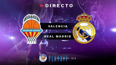 Semifinales Playoff Liga Endesa 2019: Valencia Basket – Real Madrid, en directo
