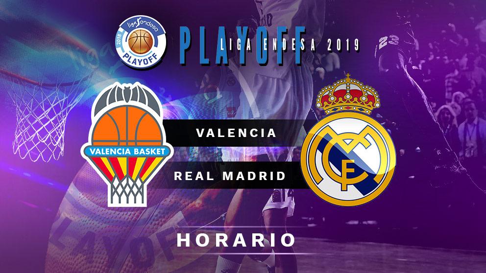 Semifinales Playoff Liga Endesa 2019: Valencia Basket – Real Madrid   Horario del partido de baloncesto de Liga Endesa.