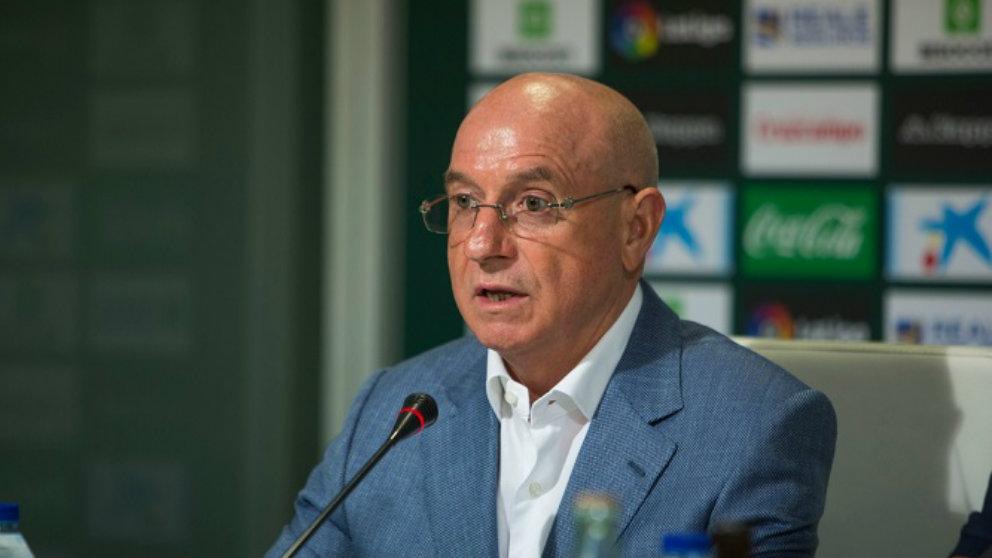 Serra Ferrer, vicedirector deportivo del Betis (Real Betis Balompié)