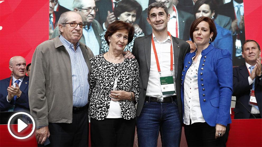 Undiano Mallenco, homenajeado por la RFEF. (RFEF)
