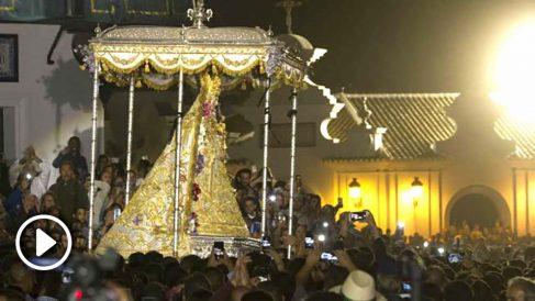 La Virgen del Rocío de Almonte (Huelva). Foto: Europa Press