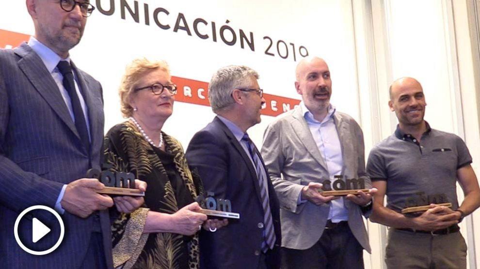 Galardonados en los Premios de Comunicación 2019 de Dircomfidencial.