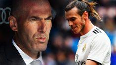 Zidane y Gareth Bale.