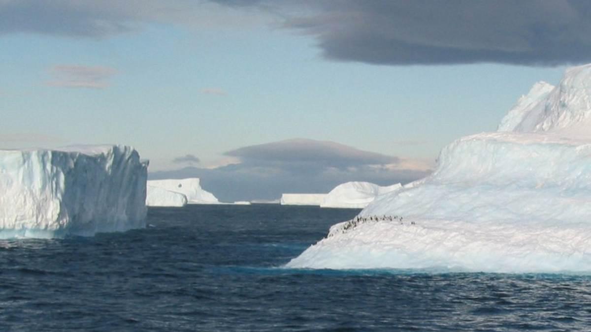 Se derrite la Antártida