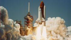 El  18 de junio de 1983, se lanza el transbordador espacial Challenger.