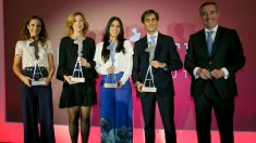 José María Álvarez-Pallete y Belén Garijo en los premios AED (Foto: EP)