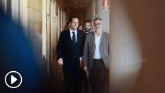 Ignacio Aguado con José Manuel Villegas, dirigentes de Ciudadanos @Twitter