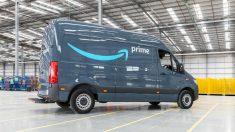 Furgoneta de Amazon Prime