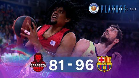 El Barça se metió en la final de la Liga Endesa sin apuros. (EFE)