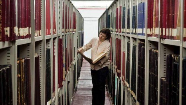Imagen de archivo de la Hemeroteca Municipal. (Foto. Madrid)