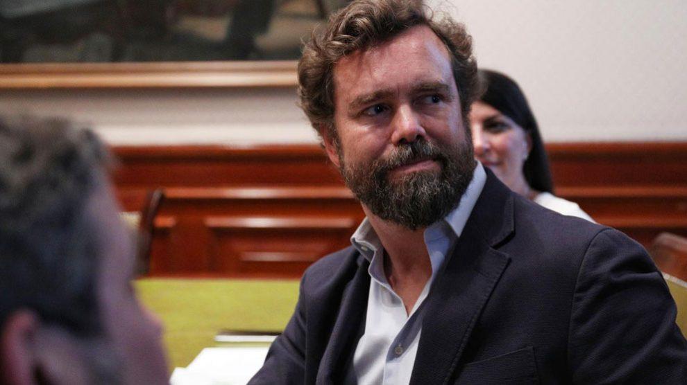 El portavoz de Vox en el Congreso, Iván Espinosa de los Montero. Foto: EP