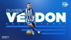 Olivier Verdon, nuevo fichaje del Alavés (Deportivo Alavés)