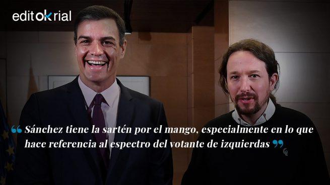 Sánchez se ríe de Iglesias