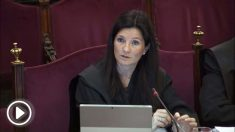 Rosa María Seoane, representante de la Abogacía del Estado en el juicio del procés