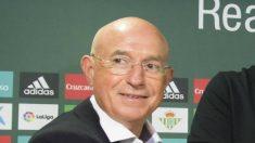 Lorenzo Serra Ferrer, vicedirector deportivo del Betis (EFE)